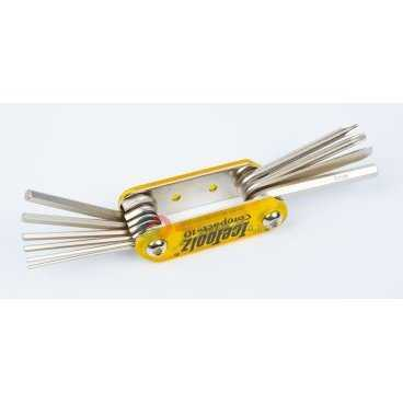 Мини-набор Ice Toolz Compact-10, складной, 10 инструментов, 94A5