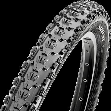 Велопокрышка Maxxis Ardent EXO TR, 27.5x2.25, 60 TPI, складная, dual, черная, TB85955100 велопокрышка maxxis race tt tr 27 5x2 0 60 tpi складная dual черная tb90919100