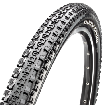Велопокрышка Maxxis CrossMark, 29x2.1, 60 TPI, wire, Single, черная, TB96698000 велопокрышка chaoyang snow storm h 5202 tubeless ready 120 tpi 26x4 0 без шипов w108235