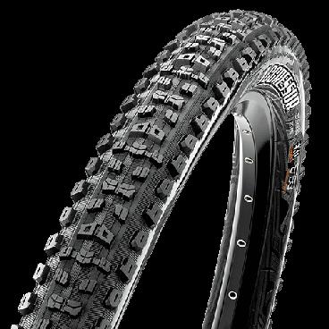 Велопокрышка Maxxis Aggressor EXO TR, 29x2.3, 60TPI, складная, черная, TB96882000 велопокрышка maxxis race tt tr 27 5x2 0 60 tpi складная dual черная tb90919100