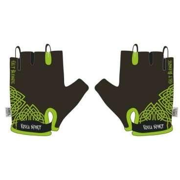 Перчатки велосипедные, Celt, гелевые вставки, цвет черный, размер XL, VG 956 Celt (XL) суппорт локтевой artist цвет черный размер xl 26 29 см