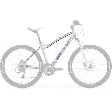 Рама велосипедная Merida Juliet 6.40-V-FRM, Silk White (серо/голубая), 2015 г. от vamvelosiped.ru