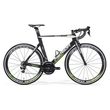"Рама велосипедна Merida Reacto Team-E-Kit-FRM, Разм: 700 M-L (54) 16"", Цвет: Silk UD (Lampre Team) от vamvelosiped.ru"