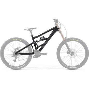 "Рама велосипедная Merida One-Eighty 6.500-FRM, Размер: L 15"", Цвет: Matt Black (dark grey) от vamvelosiped.ru"