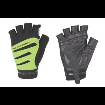 Перчатки велосипедные BBB Equipe, черный/неоновый/желтый, US:L, BBW-48 перчатки велосипедные bbb chase цвет черный красный bbw 49 размер l