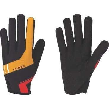 Перчатки велосипедные BBB LiteZone, черный/оранжевый/красный, US:XL, BBW-46 аксессуар bbb bbw 54 litezone