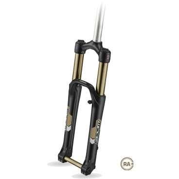 Вилка амортизационная ZOOM, MTB, 26х1-1/8, воздушно-маслянная, ход 140 мм, алюминий/магний, 680AMSВелосипедная вилка<br>Велосипедная вилка — часть велосипеда, удерживающая переднее колесо и обеспечивающая возможность менять направление езды во время движения. Выполняется из различных материалов (сталь, алюминий, карбон, титан, магний); вилки для горных велосипедов практически всегда амортизационные, вилки для городских велосипедов класса «комфорт» также нередко бывают амортизационными. Подавляющее число горных велосипедов сейчас имеет амортизационную вилку, которая также не редко встречается на гибридных и городских велосипедах.<br><br>Вилка амортизационная ZOOM 680AMS<br>Для горных велосипедов<br>Под 26 колесо<br>Шток  1-1/8<br>Ход 140 мм<br>Тормоза: дисковые<br>регулировки: P,R (гидравлика)<br>Полая ось 20 мм<br>
