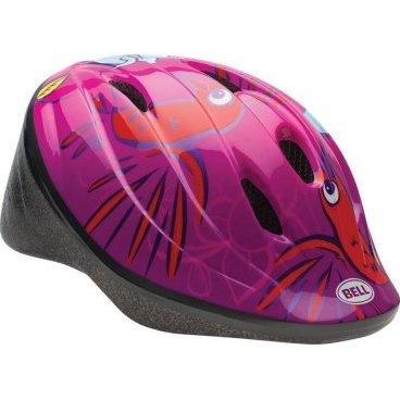 Велосипедный Шлем Bell 15 BELLINO Детский. Глянцевы красный колибри размер XS. BE7059563