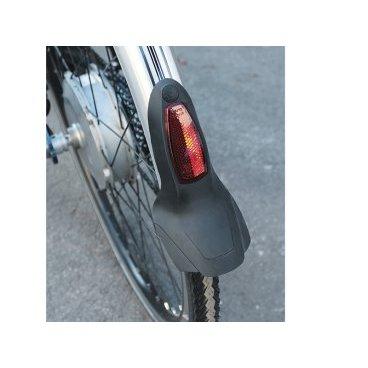 Брызговик велосипедный с катафотом для профиля, 45мм, черный, 8407
