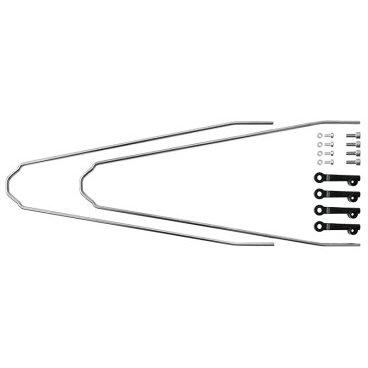 Комплект U-стоек для VELO55 CROSS, 11089 комплект крепежа sks для chromoplastics longboards 4 v стойки 2 клипсы наконечника 8 8355