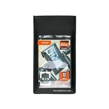Чехол SKS, запасной для смартфона Smartboy, без крепления, черный, 11357