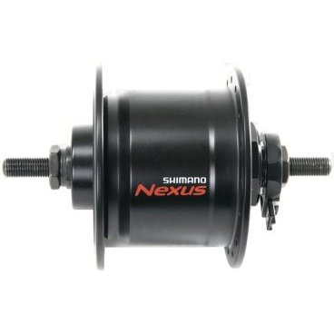 Втулка передняя динамо SHIMANO, 6V 3.0W, 32 отверстия, 100X140 мм, под гайки, черный, ADHC30003NNBLВтулки для велосипеда<br>Динамо-втулка Shimano DH-C3000-NT, 6V 3.0W<br> на 32 спицы 100X140MM под гайки (без гаек в комплекте) цвет черныйбез упаковки.<br>