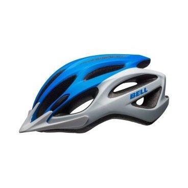 Велосипедный Шлем Bell 17 TRAVERSE АКТИВНИЙ ОТДЫХ матовый белый синий размер U. BE7078376Велошлемы<br>Описание <br>Универсальный шлем Bell Traverse для поездок на туристическом, прогулочном и дорожном велосипеде. Классическая обтекаемая форма подходит для города и загородных поездок.<br>Отличительные особенности<br>Регулировка подгонки по голове одной рукой ErgoFit® System<br>22 канала вентиляции для комфорта в жаркую погоду<br>Внешняя оболочка из поликарбоната для прочности конструкции<br>Съёмный козырёк<br>Мягкий материал лямок не растягивается от пота или воды<br>Универсальное ежедневное применение<br>Рассчитан на мужчин и женщин<br><br>Технические характеристики<br>Модель Bell Traverse<br>Подгонка посадки универсальная ErgoFit® System<br>Характеристики Fusion In-Mold Polycarbonate Shell<br>Материал оболочка поликарбонат, внутренний SoftFoam пенный пластик<br>Вентиляция 22 канала<br>Применение универсальный, город, фитнес, туризм<br>Размеры U ( 54-61 см)<br>Вес 326 г<br>
