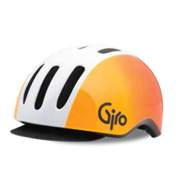 Велосипедный шлем Giro 17 REVERB MTB  матовый белый оранжевый  размер S. GI7075540
