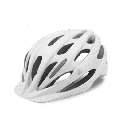 Велосипедный шлем Giro 17 VERONA, женский, гллянцевый белые линии,  размер U, GI7075639 велосипедный шлем giro 17 trinity глянцевый черный белый размер u gi7075606