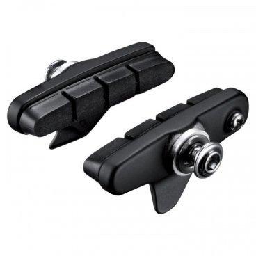 Тормозные колодки, шоссейные SHIMANO R55C4, пара, для BR-5800, черные, Y88T98020 тормозные колодки shimano r55c4 шоссейные для br 9010