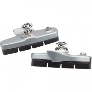 Тормозные колодки, шоссейные SHIMANO R55C4, пара, для BR-5800, серебристый, Y88T98040 тормозные колодки shimano r55c4 шоссейные для br 9010