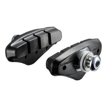 Тормозные колодки, шоссейные SHIMANO R50T5, 5 пар, для BR-4700, Y8MG98090Тормоза на велосипед<br>Тормозные  колодки, шоссейные R50T5, <br>5 пар,  для BR-4700<br>
