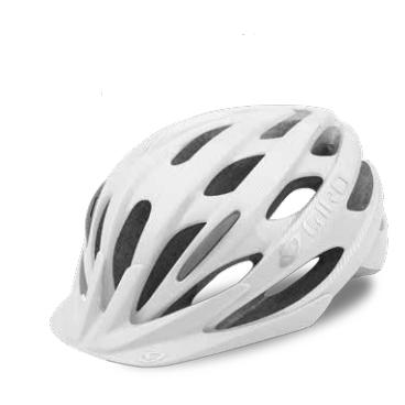 Велосипедный шлем Giro 17 REVEL, матовый белый/серебристый, размер U, GI7075575 велосипедный шлем giro 17 trinity глянцевый черный белый размер u gi7075606