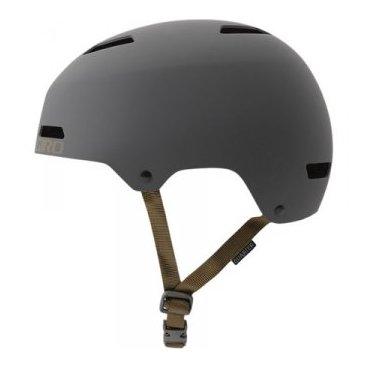 Велосипедный шлем Giro 17 QUARTER FS MTB  матовый серебристый Размер S. GI7075339