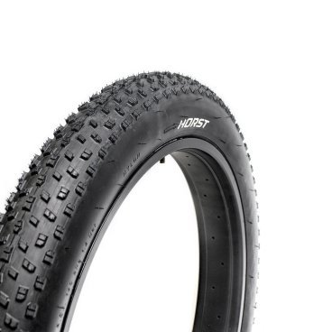 Велопокрышка HORST PQ-772, для FAT BIKE, 26x4.00 (101-559), 30 TPI, низкий, 00-001083