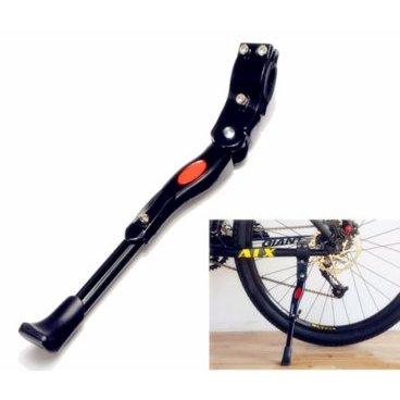 Подножка велосипедная HORST Z001, алюминий, 22-28, регулируемая, крепление к перу, 00-170317Подножки для велосипеда<br>Подножка велосипедная <br>алюминий,  22-28<br>регулируемая, универсальная, крепление к перу<br> черная <br>HORST<br>