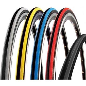 Покрышка велосипедная CST, 700x23C, C1406 CZAR, черный-синий, TB86323900