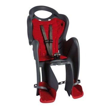 Детское велокресло на подседельную трубу BELLELLI Mr Fox Relax B-Fix, чёрное, 01FXRB0000
