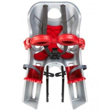 Детское велокресло на руль BELLELLI Freccia B-Fix, серебристое, до 15кг, 01FRCB0007
