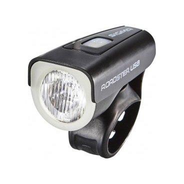 Фара передняя SIGMA ROADSTER USB: светодиод CREE, 25 люкс, освещаемая дистанция 30м, 18560 2600mah power bank usb блок батарей 2 0 порты usb литий полимерный аккумулятор внешний аккумулятор для смартфонов светло зеленый