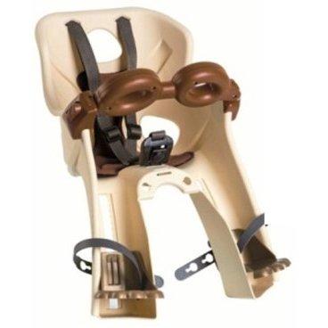 Детское велокресло на руль BELLELLI Freccia B-Fix Vintage, бежевое, до 15кг, 01FRCB00205M