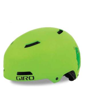 Велосипедный шлем Giro 17 DIME FS детский. глянцевый лайм размер XS, GI7075700