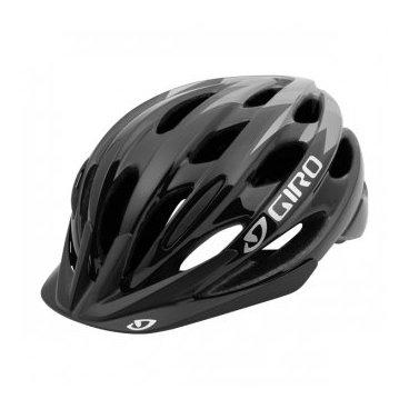 Велосипедный Шлем Giro 17 RAZE детский глянцевый черный/серый, размер U, GI7075664