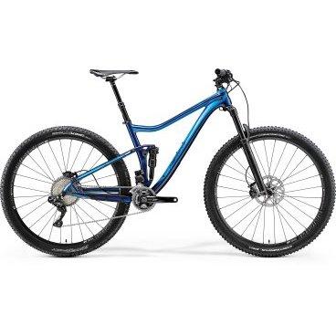 Двухподвесный велосипед Merida One-Twenty 9.7000E 2017 от vamvelosiped.ru