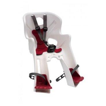 Детское велокресло BELLELLI Rabbit B-Fix, переднее, белое, до 15 кг, 01RBTB0020