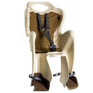 Детское велокресло BELLELLI Mr Fox Standard B-Fix на подседельную трубу, кремовое, 01FXSB0025