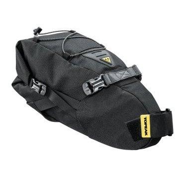 Туристическая подседельная велосумка TOPEAK BackLoader, 6.0 L, черная, TBP-BL1B