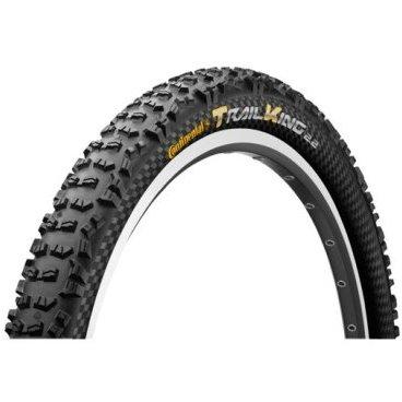 Велопокрышка Continental Trail King 2.2, 29x2.2(55-622), черная, складная, PureGrip, 150113 зимняя шина continental contivikingcontact 6 225 55 r17 101t