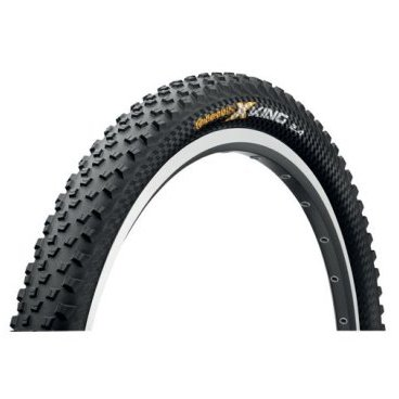 Велопокрышка Continental X-King 2.0, 26x2.0(50-559), 180TPI, Performance, черная, 150137