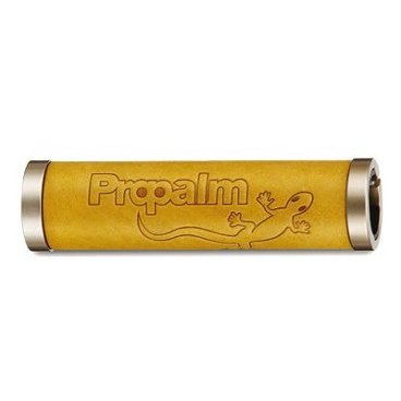Грипсы PROPALM HY-1027EP-BW, кожаные, 128мм, с 2 грипстопами, с упаковкой грипсы propalm hy 088ep1 анатомические длина 130мм с 1 грипстопом с заглушками красные