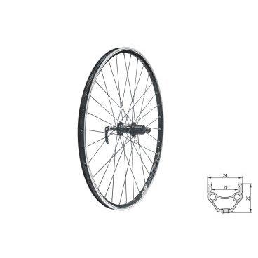 Колесо заднее KELLYS KLS DRAFT, 27.5, двойной обод 32Н, 8-10 скоростей, с эксцентриком, черноеКолеса для велосипеда<br>Колесо KELLYS KLS DRAFT<br>27.5<br>Заднее<br>Обод двойной<br>32H<br>8-10 скоростей<br>С эксцентриком<br>Черное<br>