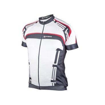 Велофутболка AUTHOR SPORT 12B бело-черно-красная, размер L, 8-7059627 цены