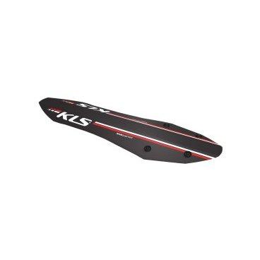 Заднее крыло KELLYS SHIELD R, 27,5-29'' (двухподвес, хардтейл), крепление быстросъёмное, чёрное сумка на руль велосипедная kellys kb 703 объем 6л крепление быстросъёмное серебряно чёрная