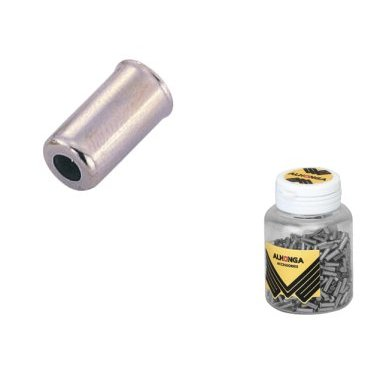 Заглушка рубашки троса ALHONGA, сталь, 4мм, 200 шт, HJ-D90-1