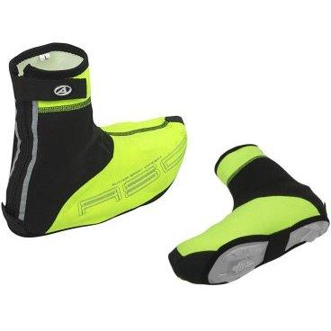 Защита обуви AUTHOR WinterProof M, размеры 40-42 (5), неоново-желто-черная, 8-7202054 шлем author универсальный вмх freestyle lynx grn 10 отверстий неоново зеленый 52 57см 8 9110323