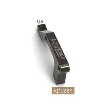 Адаптер BENGAL ADU6 дискового тормоза IS, 203мм, задний, чёрный, ADU6Тормоза на велосипед<br>Bengal Адаптер дискового тормоза IS 203мм задний<br>