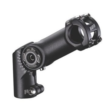 Вынос регулируемый BBB HighFix, 120 мм, 25.4, черный, BHS-34