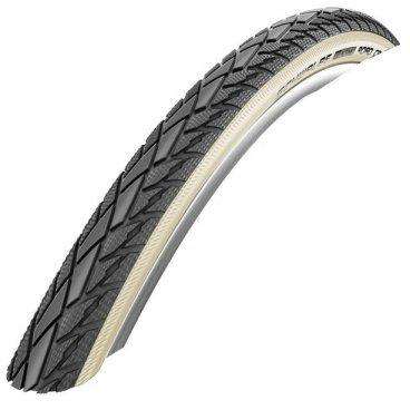 Велопокрышка Schwalbe Road Cruiser, 28x1.40(37-622), защита от проколов, черный/белый, 11149661
