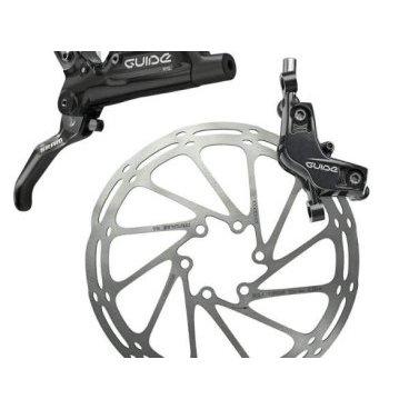 Тормоз велосипедный задний Sram Guide RS Gloss Black Rear, 1800mm, 00.5018.099.001