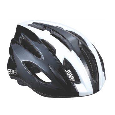 Велошлем BBB Condor, шоссе/МТБ, белый/черный, L (58-61,5 см), BHE-35